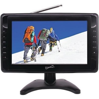 "Supersonic 10"" Portable Lcd Tv (pack of 1 Ea)"