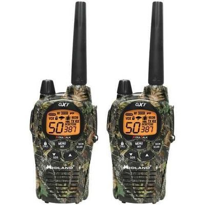Midland 36-mile Camo Gmrs Radio Pair Pack With Drop-in Charger & Rechargeable Batteries (pack of 1 Ea)
