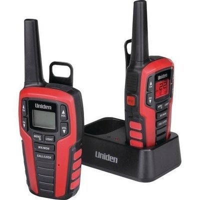 Uniden 32-mile 2-way Frs And Gmrs Radios (charging Cradle) (pack of 1 Ea)