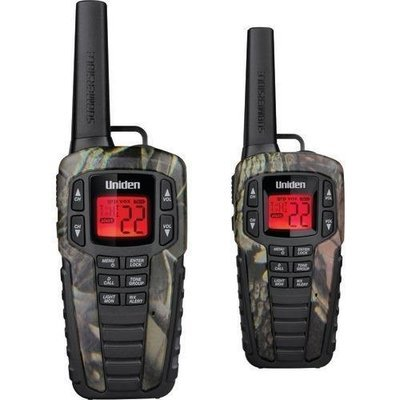 Uniden 37-mile 2-way Frs And Gmrs Radios (camo) (pack of 1 Ea)