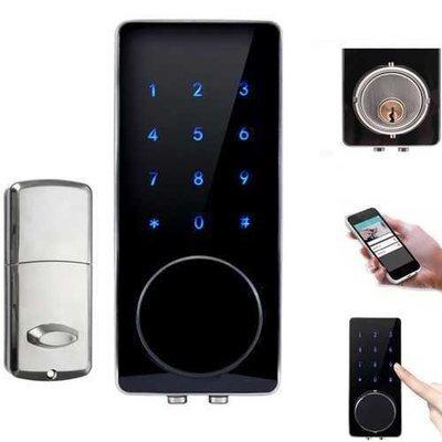 Bluetooth Smart Digital Door Lock Home Security Lock Keyless Touch Password Dead Bolt