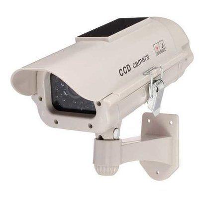 2300 Solar Power Dummy Decoy Fake Security Simulation Camera Surveillance Blinking LED