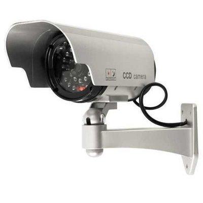 Solar Powered Fake Camera Outoodr Dummy Bullet CCTV Security Surveillance Camera Blinking IR LED