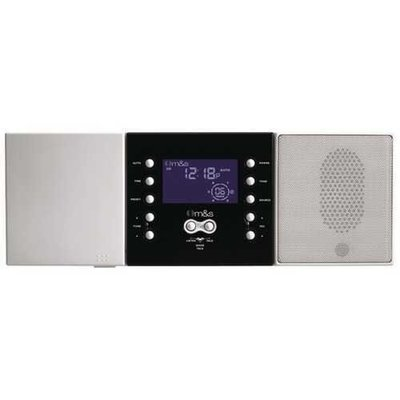 M&S Systems(R) DMC3-4 3- or 4-Wire Retrofit Music/Communication System Master Unit (White)