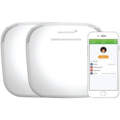 Amped Ally Plus Whole Home Smart Wi-fi System (pack of 1 Ea)