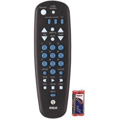Rca 3-device Universal Remote (pack of 1 Ea)