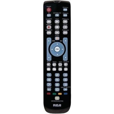 Rca 4-device Green Backlit Universal Remote (pack of 1 Ea)
