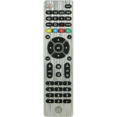 General Electric 4-device Universal Remote Control (pack of 1 Ea)