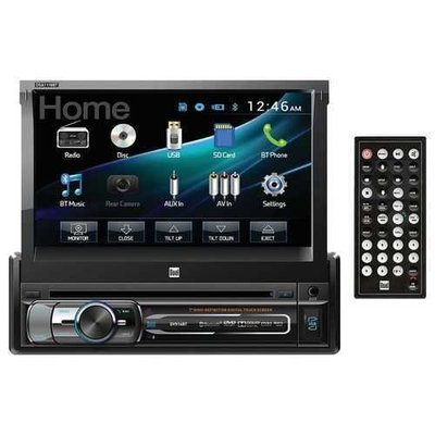 Dual DVD Multimedia Receiver with Bluetooth 7