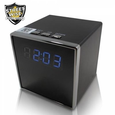 Streetwise Cube Clock WiFi IP Camera - cases of: [24] items