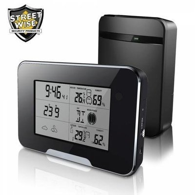 Streetwise HD 1080P Weather Station Camera Wi-Fi Version - cases of: [20] items