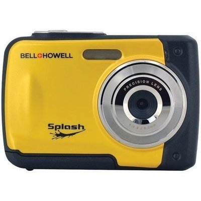 Bell+Howell(R) WP10-Y 12.0-Megapixel WP10 Splash Waterproof Digital Camera (Yellow)