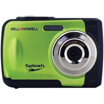 Bell+Howell(R) WP10-G 12.0-Megapixel WP10 Splash Waterproof Digital Camera (Green)
