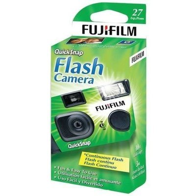 Fujifilm(R) 7033661 QuickSnap Flash 400 Disposable Single-Use Camera