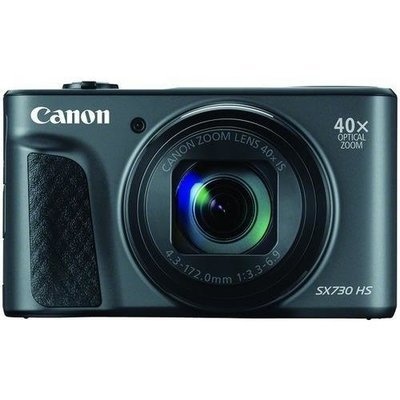 Canon(R) 1791C001 20.3-Megapixel PowerShot(R) SX730 Digital Camera (Black)