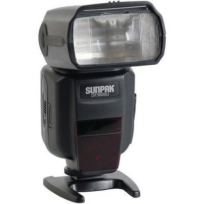 Sunpak(R) DF3600U-CN DF3600U Universal Flash for Canon(R) & Nikon(R) Cameras