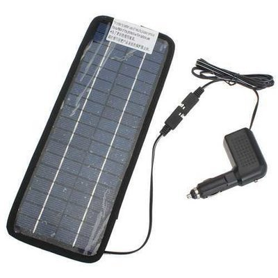 12V Solar Power Panel Auto Car Battery Charger