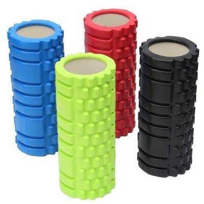 Yoga Foam EVA Roller Trigger Point Textured Pilates Physio Massage Hollow Column Roller