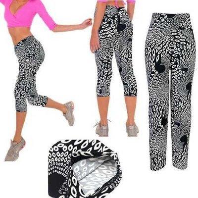 Athleisure Printing High Waist Stretch Fitness Sport Yoga Pant