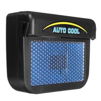 Solar Power Car Window Auto Air Vent Cool Fan Cooler Ventilation System Radiator