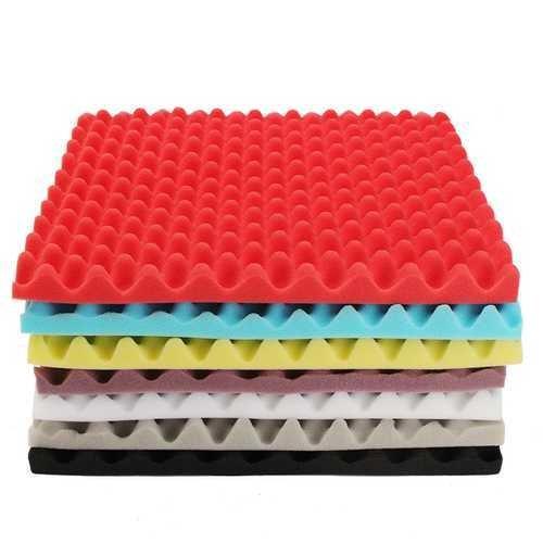 50050050mm Square Insulation Reduce Noise Sponge Foam Cotton -7 Colors