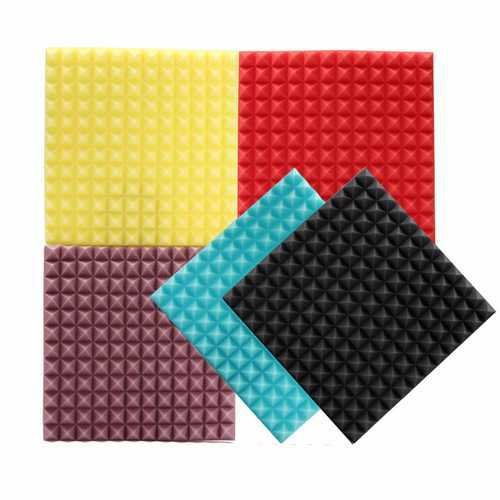 45x45x3cm Acoustic Soundproofing Sound-Absorbing Noise Foam Tiles