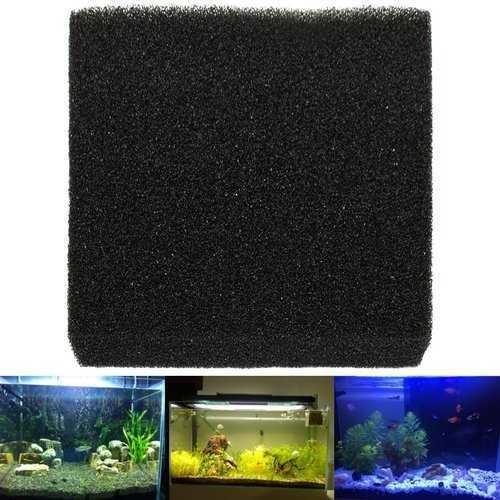 50x50x5cm Black Aquarium Biochemical Cotton Filter Foam Fish Tank Sponge Pads