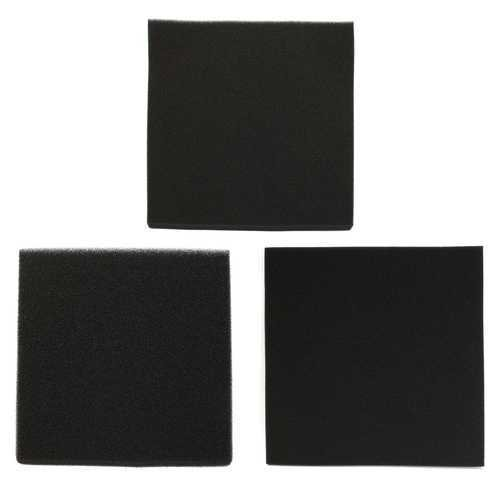 100x100x3cm  Black Aquarium Biochemical Filter Foam Cotton Sponge Fish Tank Pond