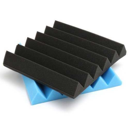 2Pcs Soundproof Sponge Sound Absorption Panel Foam For Studio KTV Home 30x30cm