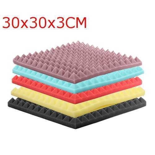 30x30x3cm Acoustic Soundproofing Sound-Absorbing Noise Foam Tiles