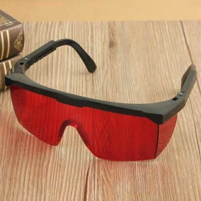 PC Material Adjustable Laser Pointer Eyes Protective Glasses