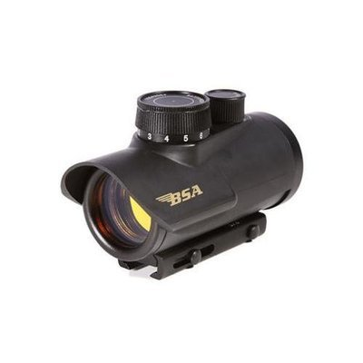 """BSA 30mm Red Dot Sight, 3/8"""" and Weaver Mount"""