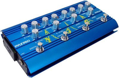 Super Guitar Multi-Effect Pedal With Overdrive, Distortion, Chorus, And Digital Delay