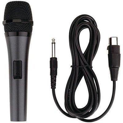Karaoke USA(TM) M189 Professional Dynamic Microphone with Detachable Cord