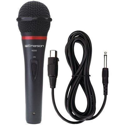 Karaoke USA(TM) M200 Professional Dynamic Microphone with Durable Metal Case & Grille