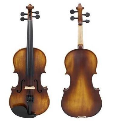 Astonvilla AV-506 4/4 Spruce Solid Wood Vintage Violin with Case&Accessories
