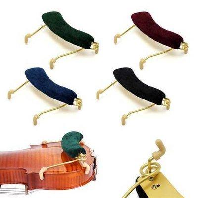 Metal Fiddle Spring Shoulder Rest Pad Support Holder for 1/2 Violin