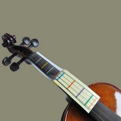 1Pcs Violin Finger Board Chart Sticker For 4/4 3/4 1/2 1/4 1/8 Violin