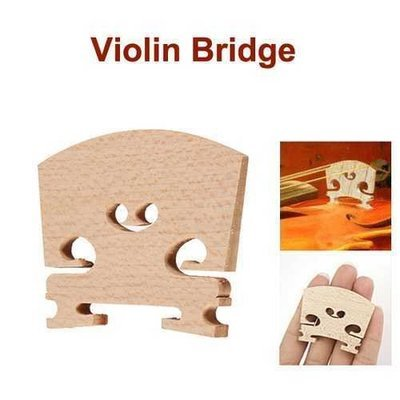 Violin Bridges Fiddle Maple Wood Laser Cut for 4/4 Size
