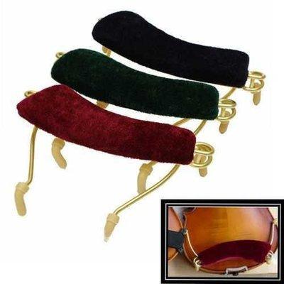 3 Colors Professional Soft Spring Shoulder Rest Pad for 3/4 & 4/4 Size Violin