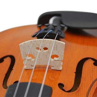 Maple Violin Bridge Fit 1/8 & 1/4 & 1/2 & 3/4 & 4/4 Violin