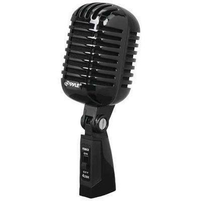 Pyle Pro Classic Retro Vintage-style Dynamic Vocal Microphone (black) PYLPDMICR42BK