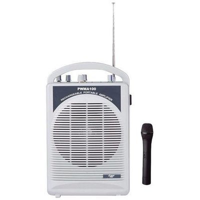 Pyle Pro(R) PWMA100 Rechargeable PA Speaker with Wireless Microphone