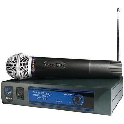 Nady(R) DKW-3 HT/B 185.150 Mhz VHF Single-Channel Handheld Wireless Cardioid Dynamic Microphone System