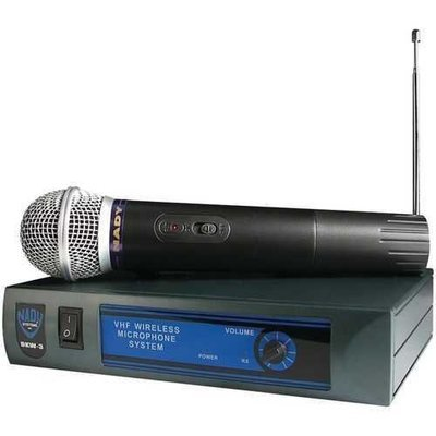 Nady Handheld Wireless Cardioid Dynamic Microphone System NDYDKW3HT