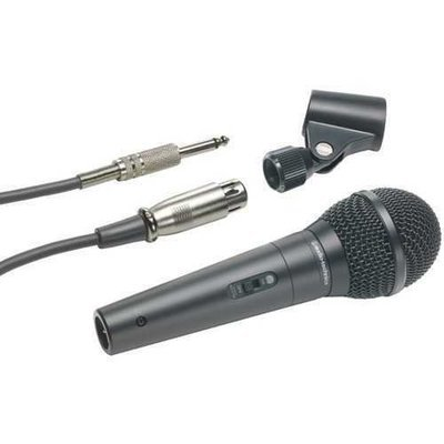Audio-Technica(R) ATR-1300 ATR Series Dynamic Vocal/Instrument Microphone (Unidirectional, ATR1300)
