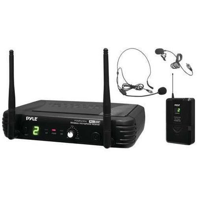 Pyle Pro Premier Series Professional Uhf Wireless Body-pack Transmitter Microphone System PYLPDWM1904