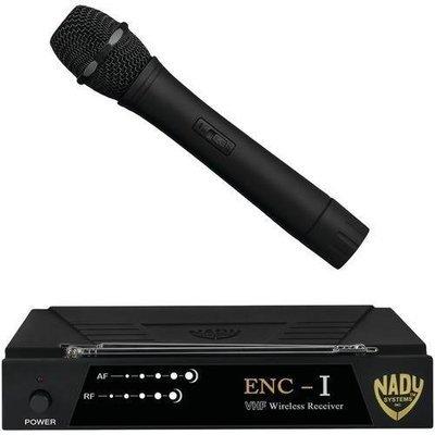 Nady(R) ENC 1 HT ENC-I Professional Single-Channel VHF Wireless System