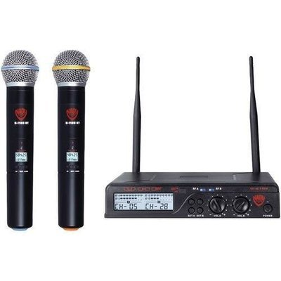 Nady(R) U-2100 HT BAND A/B Dual UHF 100-Channel Wireless Handheld Microphone System