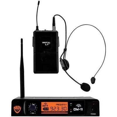 Nady Single-channel Digital Wireless Microphone System (digital Lt Hm-3 Headset) NDYDW11HMANY